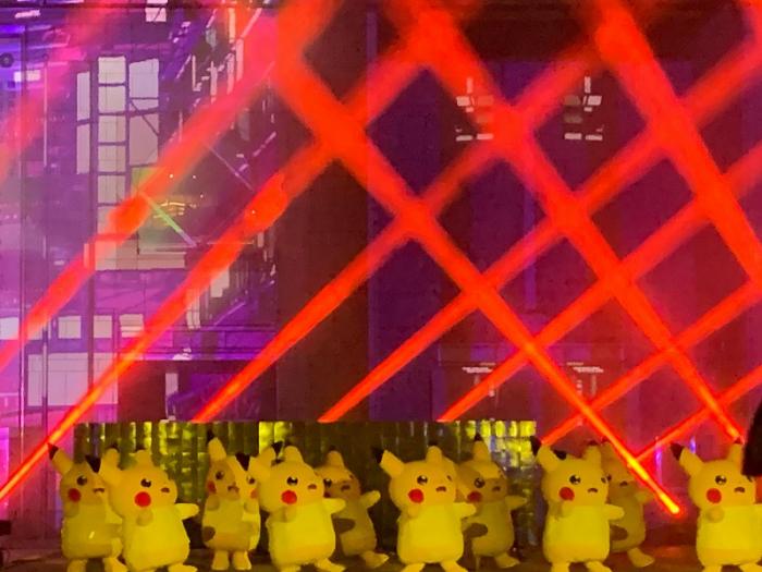 みなとみらいの街×ピカチュウ ピカチュウ大量発生チュウ!