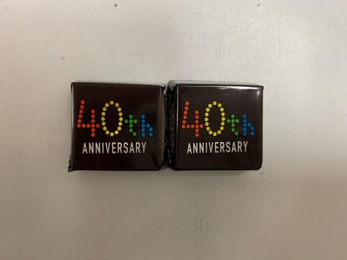 チロルチョコ 40周年記念