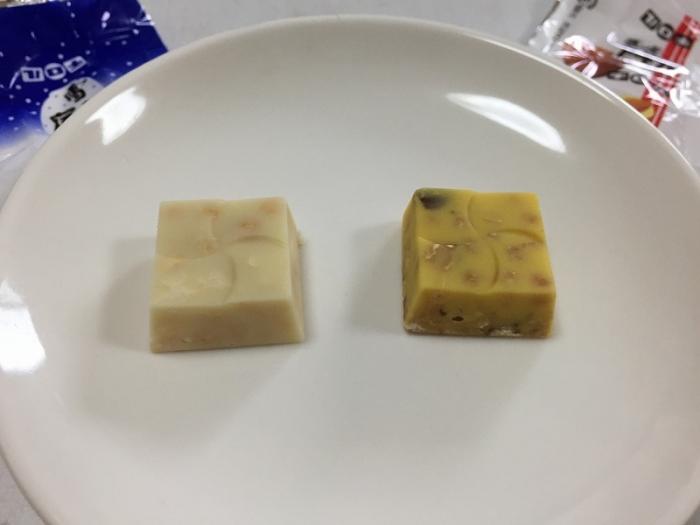 チロルチョコ 雪の宿 チーズアーモンド